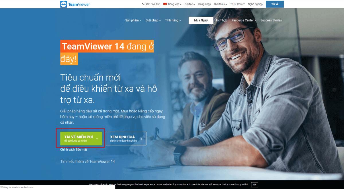 Cài đặt Teamview để điều khiển và hỗ trợ máy tính từ xa